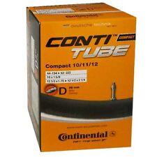 Continental Compact Chambre à air vélo pour 10/11/12 Pouces avec Dunlop Soupape