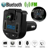Bluetooth Car FM Transmitter MP3 Player Dual USB Charger Handsfree Wireless K2B0