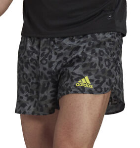 adidas Adizero Mens Split Running Shorts - Grey
