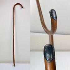 Antique Vintage Walking Cane, Stick With Silver Cap 1920's S64