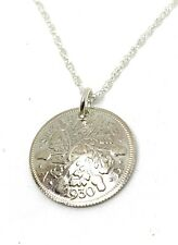 More details for 1931 90th lucky sixpence domed sixpence birthday anniversary 1928-1937 18in ch