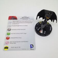 Heroclix World's Finest set Batman #050 Super Rare figure w/card!