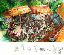 peinture originale fest noz  signé Gwendal lemercier