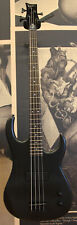Dean ZOXMB Zone Bass Guitar - Trans Black Satin (painted-over ding in front of b