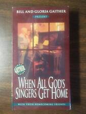 Bill and Gloria Gaither - When All God's Singers Get Home - 1996 - VHS Tape