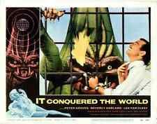 """It Conquered the World  Movie Poster Replica 11x14"""" Photo Print"""