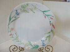 CORELLE DINNERWARE MY GARDEN DINNER PLATE WHITE W/FLORAL