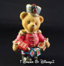 Cherished Teddies 1996 JEFFREY Teddy Bear CHRISTMAS TOY SOLDIER Enesco #176044