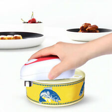 Kitchen Ware Electric Auto Hands Free Jar Can Tin Opener No Sharp Edge Safe