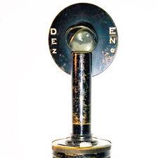 De Zeng Retinoscope Antique Vintage 1915 Optometry Ophthalmology
