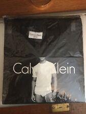 Calvin Klein Large Crew Neck Tee , Black New In Package