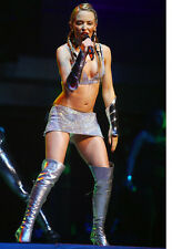 Kylie Minogue 11x17 Mini Poster raunchy costume in concert