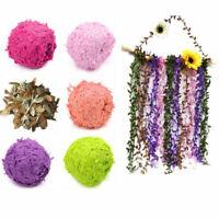 10M Handwerk Girlande Pflanze Künstliche Rebe Gefälschte Blume Kranz Dekoration