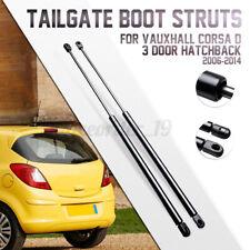 Rear Boot Tailgate Gas Struts For Vauxhall Corsa D 3 Door Hatchback 13182537 !