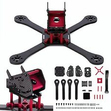 OCDAY 220mm 3K Carbon Fiber Frame Kit DIY for FPV Drone Racing Quadcopter w/PDB