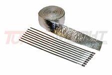 Hitzeschutzband Aluminiumbeschichtung 10 Meter lang 5 cm breit Isolierband