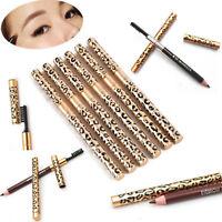 NEW Eye Brow Eyeliner Eyebrow Pen Pencil Cosmetic Waterproof With Brush Make up