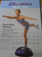 BOSU Total Body Trainer Workout DVD Exercise Balance Fitness Strength