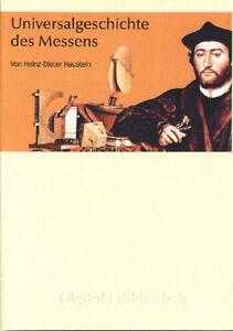 Universalgeschichte Des Messens Haustein CD Digital Library No. 164