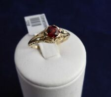 Red Not Enhanced Yellow Gold Fine Jewellery