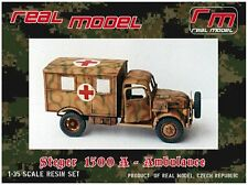 1/35th Real Model German Steyer 1500A Ambulance conversion