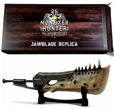 MONSTER HUNTER WORLD JAWBLADE REPLICA WEAPON LOOT CRATE Sword Jaw Blade Bone NEW