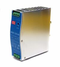 1pc DIN Rail DC Switching Power Supply NDR-120-48 120W 48V 2.5A Mean Well UL TUV