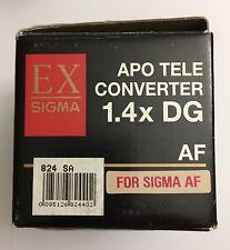 Sigma 1.4x Teleconverter 1.4 APO EX DG Lens for Sigma SA-Mount Lens