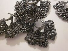 New listing Stem Ware Rosemount Set Of 4 Decorative Pewter 2.5 x 2.5 Made In Thailand #2