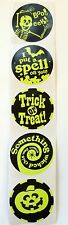 50 Halloween Glow In The Dark Stickers Party Favors Teacher Supply Ghost BOO