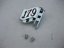 NEW **AUSTRALIAN MADE** BOOT LID DECK LID BADGE TO EH HD HOLDEN 179 + CLIPS FLAG