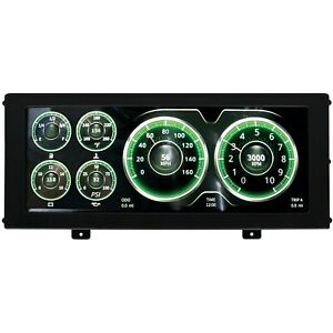 AutoMeter 7000 InVision Universal LCD Dash with 3 Different Screen Layouts
