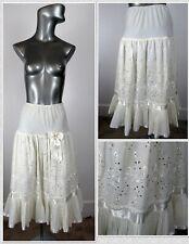 New listing 1950s Vintage Isn'T It Romantic Eyelet & Accordion Trim Petticoat Crinoline Sz S