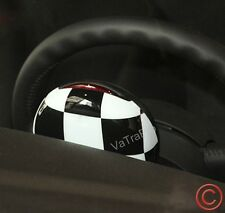 FOR MINI COOPER S R56 R58 R60 R61 TACHOMETER COVER RPM CHECKERED RACING BW FLAG