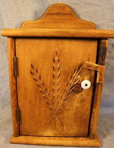 Habersham Plantation Antique Handmade Rustic Farmhouse Curio Medicine Cabinet