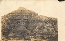 Lemmon Butte nr Opal South Dakota c1910 RPPC Real Photo Postcard Meade County A
