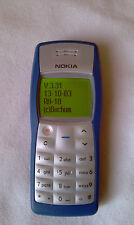 NOKIA 1100 , firmware 3.31 made in Germany (Bochum factory - October 2003)