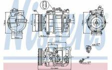 NISSENS Compresseur de climatisation pour VOLKSWAGEN TOUAREG AUDI Q7 89091