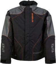 Arctiva Pivot 2 Insulated Adult Snowmobile Jacket Black/Orange All Sizes