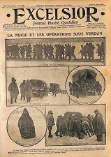 Bataille de Verdun Poilus Transport Matériel Munitions Convois Soldat  WWI 1916