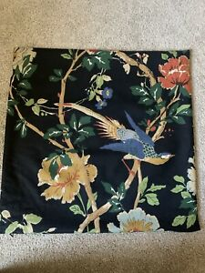 Pottery Barn Julia Black Bird Pillow Cover