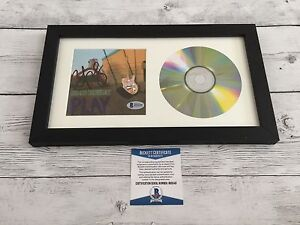 Country Brad Paisley Signed Play CD Cover Framed Beckett BAS COA Autographed a