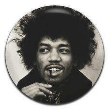 Jimi Hendrix Rock Guitar Psychedelic Hippie 25mm / 1 Inch D Pin Button Badge