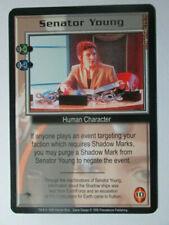1998 Babylon 5 Ccg - The Shadows - Rare Card - Senator Young