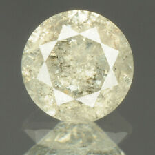 0.44 cts. CERTIFIED Round Brilliant Light Gray Color Loose Natural Diamond 22761