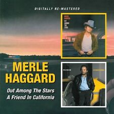 Merle Haggard - Out Among the Stars / Friend in California [New CD] Rmst