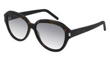 Brand New SAINT LAURENT Sunglasses SL 400 002 Havana gray Woman