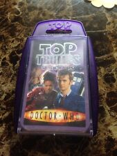 Top Trumps Doctor Who Specials David Tennant Complete