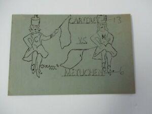 1962 CARTERET vs METUCHEN, Middlesex County, NJ High School Football Program