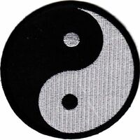Ying Yang Martial Arts Patch - 2 Large Sizes!
